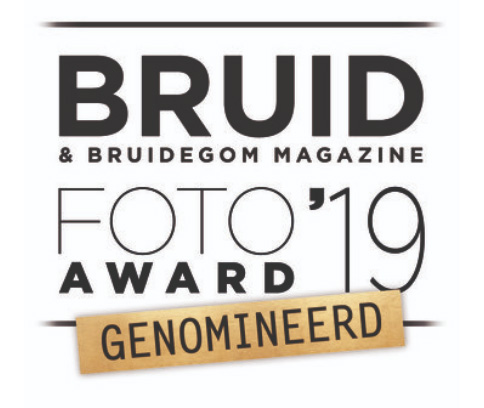 Genomineerd voor Bruidsfoto Award 2019